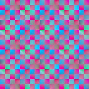 "Plasma Checkerboard 1"""