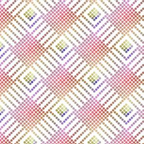 Plasma Dots on White