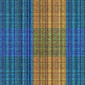 Roughened Summer Plaid (Vertical)