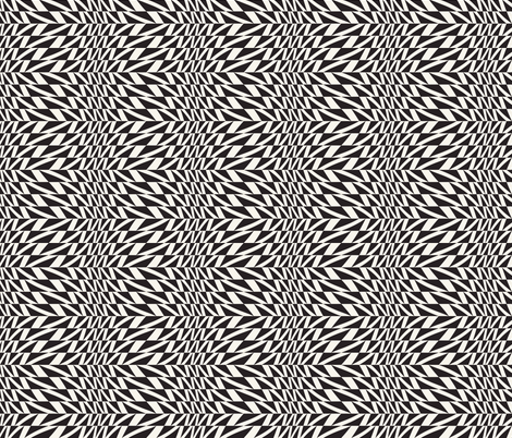 triangles ornament fabric by cepera on Spoonflower - custom fabric