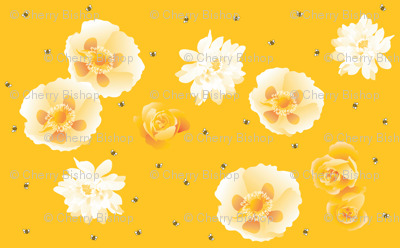 Flowersnbees-yellow_preview