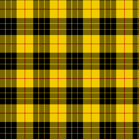 MacLeod Plaid ~ Small fabric by peacoquettedesigns on Spoonflower - custom fabric