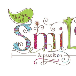 Smile and Pass It On Solo - © Lucinda Wei