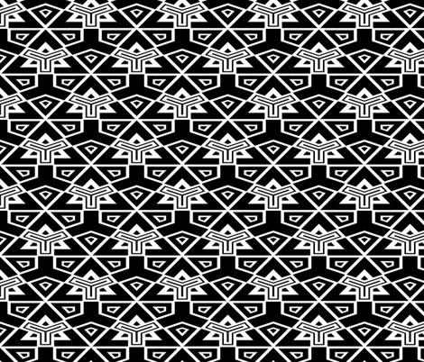 Kaleidoscope Motif fabric by cepera on Spoonflower - custom fabric