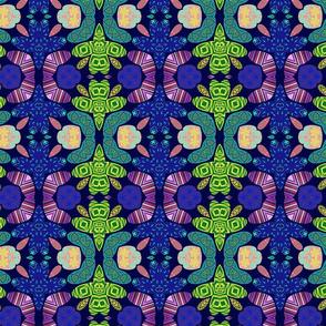 Pattern 49 - Blue turtle, Odette Lager