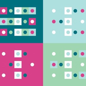 Four Square with Dots