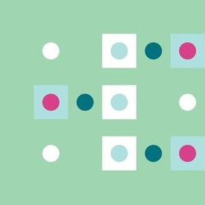Dots and Squares on Mint
