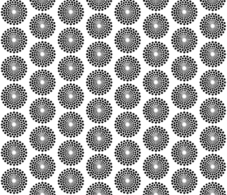 basically mod circle fabric by keweenawchris on Spoonflower - custom fabric