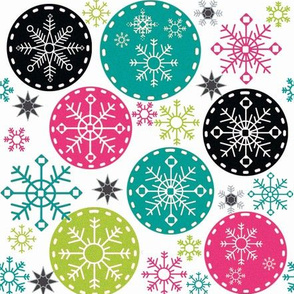 Hot_Pink_Snowflake_Rounds