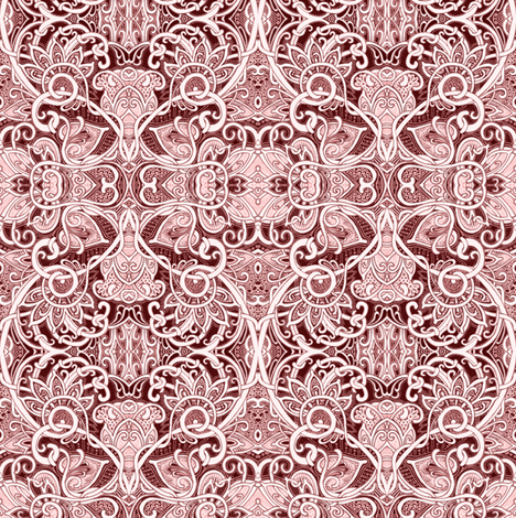 Tangled Up in Lace fabric by edsel2084 on Spoonflower - custom fabric