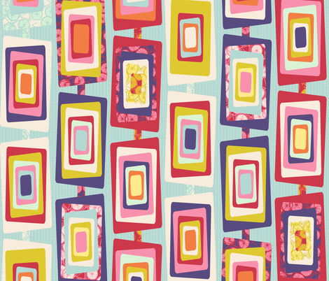 Window Boxed fabric by spellstone on Spoonflower - custom fabric