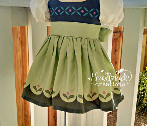 Anna Toddler Skirt