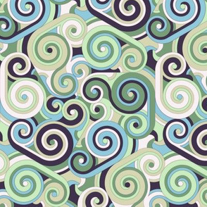 Whirlwind, Blue and Green (small)