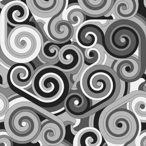 Whirlwind, Black and White (medium)