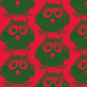 Noel The Owl Holiday