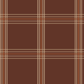 Brown Plaid