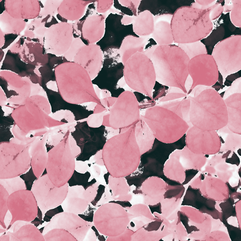 Sakura ~ Ink Wash ~ Petite fabric by peacoquettedesigns on Spoonflower - custom fabric