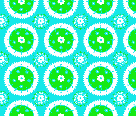 suza2 fabric by tailofthedog on Spoonflower - custom fabric