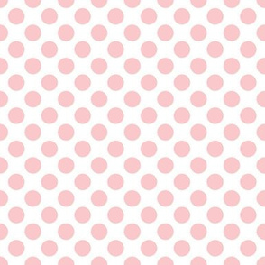 Très Chic ~ Polka Dot ~ Dauphine and White