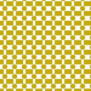 Chartreuse Geometrics