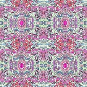 Paisley Flower Love Mandala