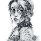 Mermaid Mask Fat Quarter