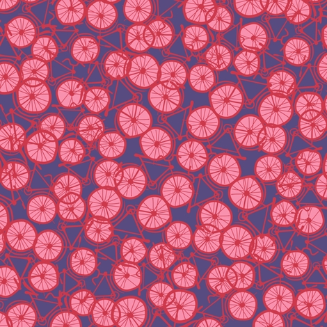 Pedal Power Carnation  fabric by spellstone on Spoonflower - custom fabric