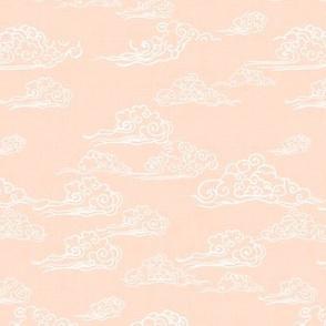 Whisp of Cloud in Peach