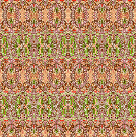 She's So Dainty fabric by edsel2084 on Spoonflower - custom fabric