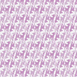 Light Radiant Orchid Two Way Deer