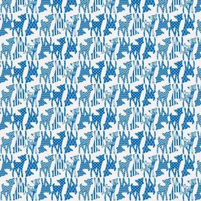 Dazzling Blue Two Way Deer