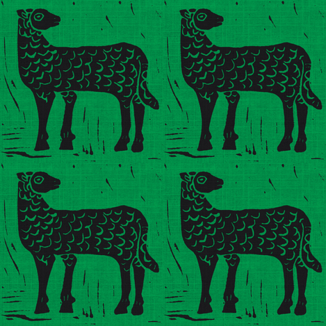 Black Sheep #1 fabric by bad_penny on Spoonflower - custom fabric