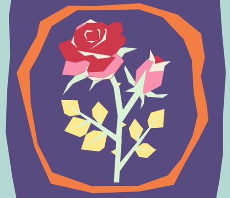 rosequilt fabric by suziwollman on Spoonflower - custom fabric