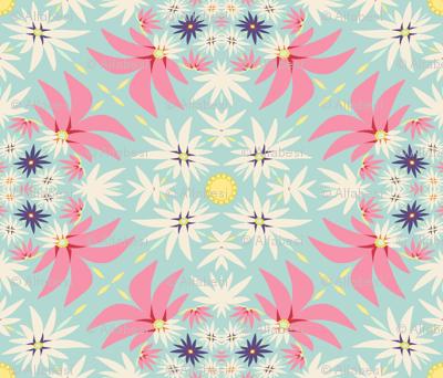 Spring flora applique