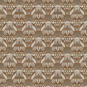 brown ikat