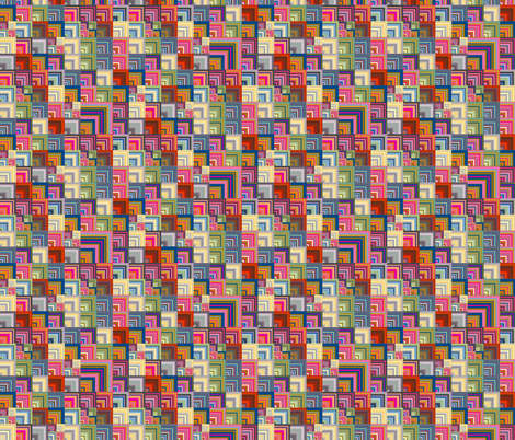 down on the corner fabric by keweenawchris on Spoonflower - custom fabric