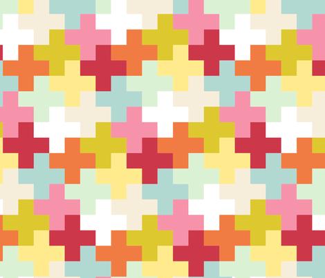 Garden Plus fabric by mrshervi on Spoonflower - custom fabric