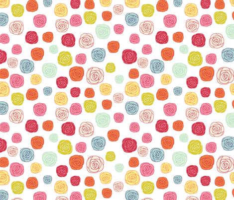 FlowerGarden fabric by mrshervi on Spoonflower - custom fabric