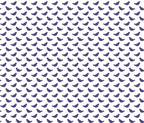 PurpleBirds fabric by mrshervi on Spoonflower - custom fabric