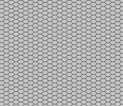 Scales Silver fabric by purplish on Spoonflower - custom fabric