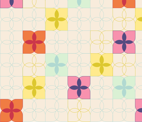 Spring Flowers fabric by policunha on Spoonflower - custom fabric