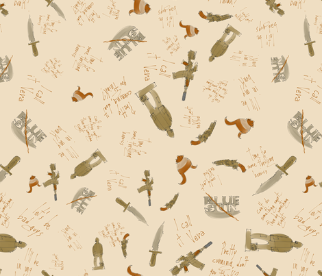 I call it Vera fabric by aliceelettrica on Spoonflower - custom fabric