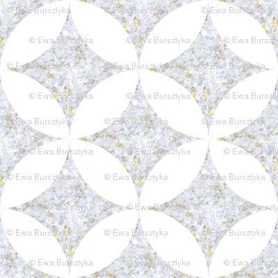 sparkle silver dots