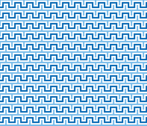 Squarest Wave - Blues and White fabric by arm_pillozzz on Spoonflower - custom fabric