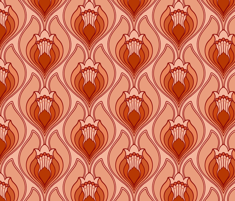 fire fabric by myracle on Spoonflower - custom fabric