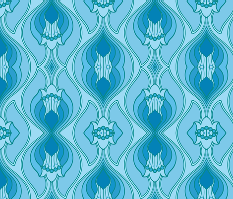 ice fabric by myracle on Spoonflower - custom fabric