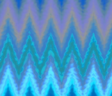 watery chevron fabric by weavingmajor on Spoonflower - custom fabric
