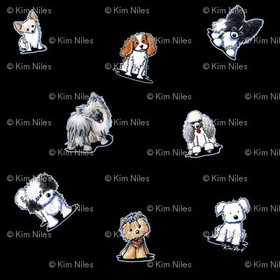 Happy Little Dogs (Custom)