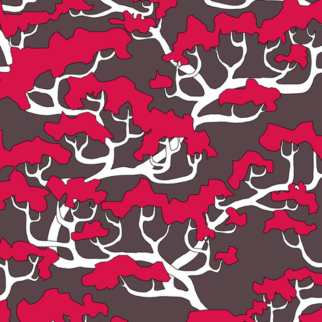 Tree Branches V. fabric by pond_ripple on Spoonflower - custom fabric