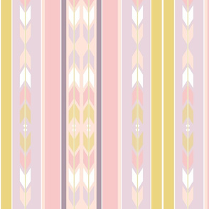 South West Blanket Stripes Desert Pastel
